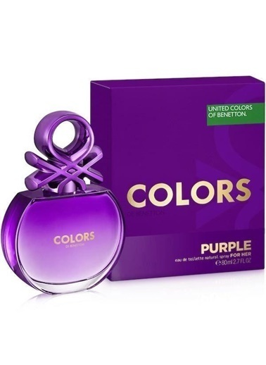 Benetton Benetton Colors Purple EDT 80 ML Kadýn Parfümü Renksiz